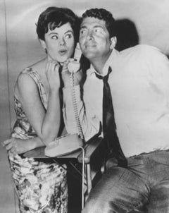 "Dean Martin and Pamela Searle in ""Bells are Ringing"" - Vintage Photo - 1960"