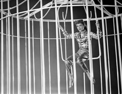 Debbie Reynolds Performing on Swing Fine Art Print