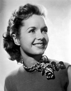 Debbie Reynolds Smiling in the Studio Fine Art Print