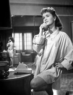 Debbie Reynolds Talking on Telephone II Fine Art Print
