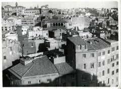 Disappeared Rome - Foro Traiano - Vintage Photo - 1932