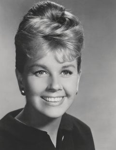 Doris Day Smiling Globe Photos Fine Art Print