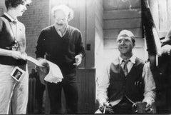 Dustin Hoffman and Volker Schlöndorff - Vintage Photograph - 1985