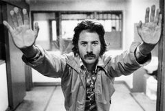 Dustin Hoffman On Set - Silver Gelatin Print
