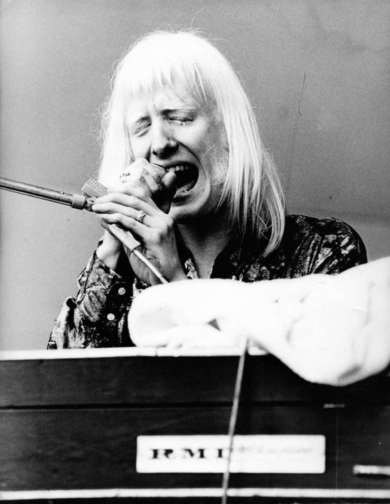Unknown Portrait Photograph - Edgar Winter at Crystal Palace Vintage Original Photograph