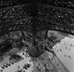 'Eiffel Tower Leg'  OVERSIZE Limited Edition Silver Gelatin Print