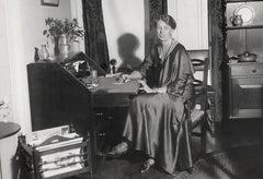 Eleanor Roosevelt at Her Desk Fine Art Print