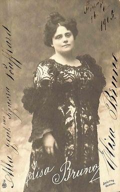 Elisa Bruno Autographed Photograph - 1915