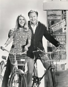 """Elizabeth Montgomery and Dick Sargent """"Bewitched""""  Fine Art Print"""
