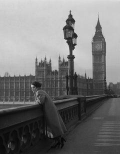 Elizabeth Taylor In London (1948) - Silver Gelatin Fibre Print