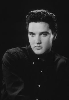 Elvis Presley: Handsome Star in the Studio II Globe Photos Fine Art Print