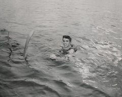 Elvis Presley Swimming Fine Art Print