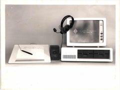 "Enea and ISI the computer was born from human ""senses"" - Original Photos - 1986"