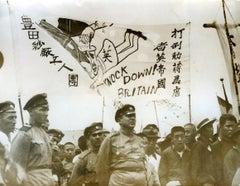 English Soldiers in Tientsin - Vintage Photo 1939