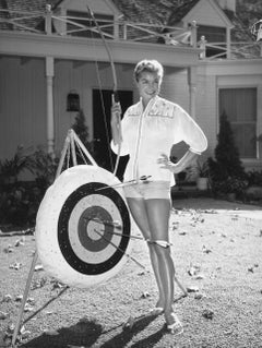 Esther Williams Posing with Bow Vintage Original Photograph