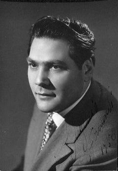 Eugenio Fernandi Autographed Photograph - 1958