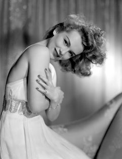 Eva Gabor Glamour Portrait Movie Star News Fine Art Print