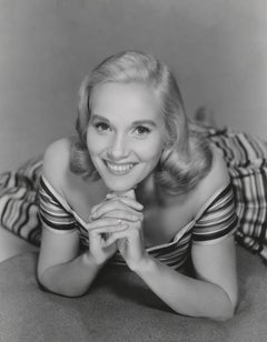 Eva Marie Saint Smiling in the Studio Fine Art Print
