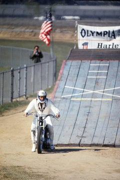 Evel Knievel, the Legendary Motorcycle Daredevil