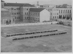 Fascism in Italy - Public Exercise - Vintage b/w photo - 1934 ca.
