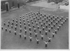 Fascism - Outdoor Physical education - Vintage Photo 1934