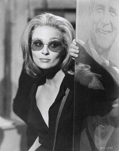 Faye Dunaway in Tinted Glasses Vintage Original Photograph