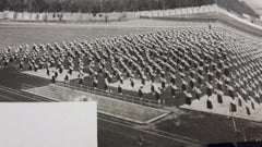 Female Sport Exercises during Fascism in Italy -Vintage b/w Photograph - 1934ca.