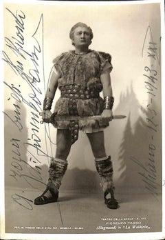 Fiorenzo Tasso Autographed Photograph - 1943
