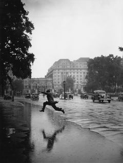 Flooded Road (1939) - Silver Gelatin Fibre Print