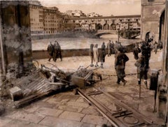 Florence Devastated by the Waters of the Arno - 1966