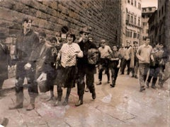 Florence Devastated by the Waters of the Arno, and Victims - 1966