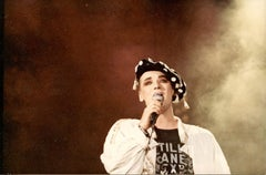 Four Portraits of Boy George - Vintage Color Photos - 1990