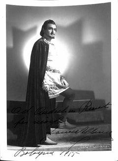 Francesco Albanese Autographed Photograph - 1955