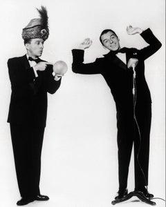 Frank Sinatra and Bing Crosby Globe Photos Fine Art Print
