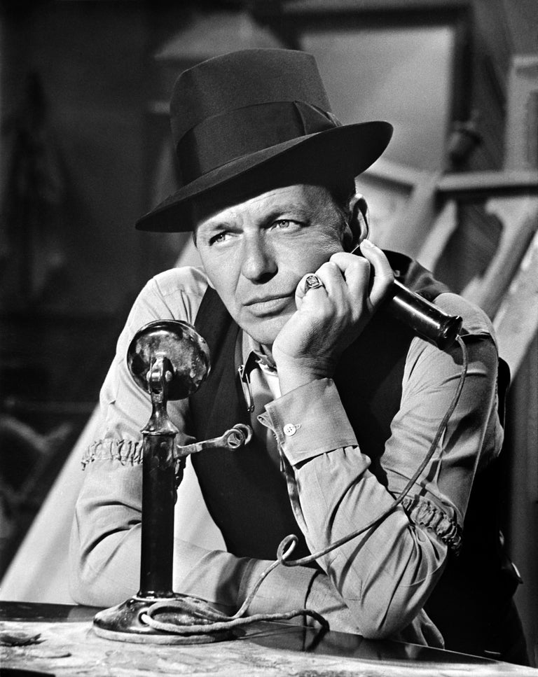Unknown Black and White Photograph - Frank Sinatra Fine Art Print