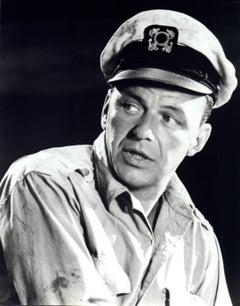 Frank Sinatra in Sailor Hat Vintage Original Photograph