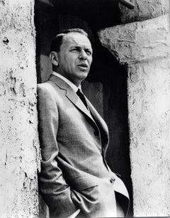 Frank Sinatra Posing in Suit Vintage Original Photograph