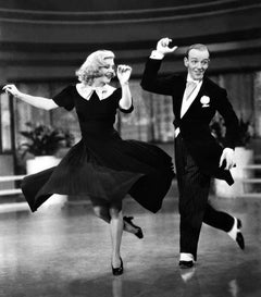 "Fred Astaire and Ginger Rogers in ""Swing Time"" Globe Photos Fine Art Print"