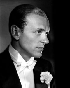 Fred Astaire Awesome Profile in the Studio Movie Star News Fine Art Print