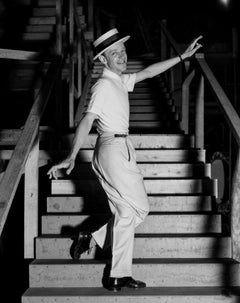 Fred Astaire Dancing on Stairs Movie Star News Fine Art Print