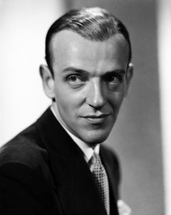 Fred Astaire: Handsome Headshot Movie Star News Fine Art Print
