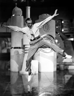 Fred Astaire in Mid-Jump Fine Art Print