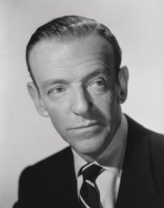 Fred Astaire in Portrait Study Fine Art Print
