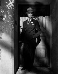 Fred Astaire Posed in Doorway Movie Star News Fine Art Print