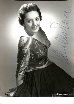 Gabriella Tucci Autographed Photograph - 1950