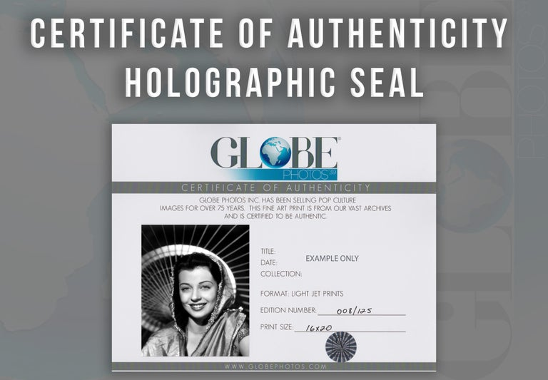 Gail Russell Smiling in Shawl Movie Star News Fine Art Print For Sale 3