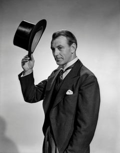 Gary Cooper Tipping Tophat Movie Star News Fine Art Print