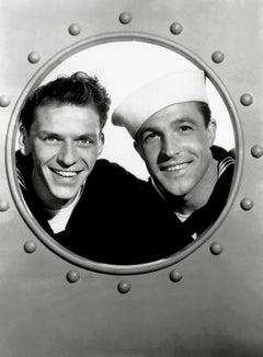 "Gene Kelly and Frank Sinatra ""Anchors Aweigh"" Globe Photos Fine Art Print"