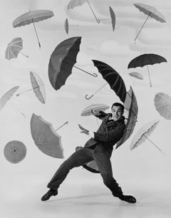 "Gene Kelly ""Singin' in the Rain"" Globe Photos Fine Art Print"