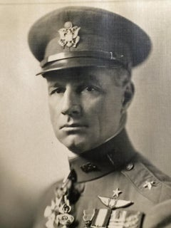 GENERAL BILLY MITCHELL - SIGNED AND INSCRIBED PHOTO DATED JANUARY, 1926